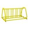 8 Space 5 Ft. Bike Rack A Style Frame Bike Rack - Yellow