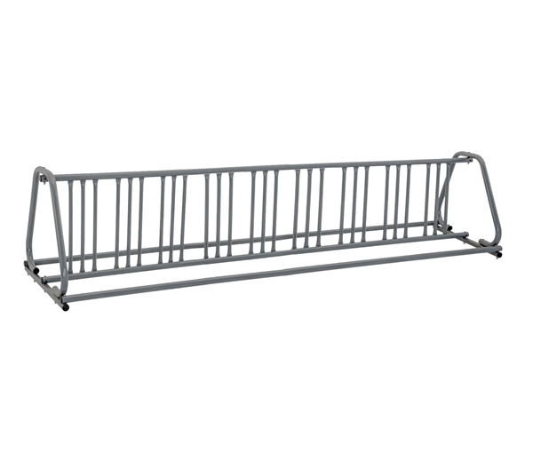 18 Space 10 Ft. A Style Bike Rack - Galvanized