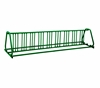 18 Space 10 Ft. A Style Bike Rack - Forest Green