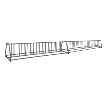 36 Space 20 Ft. A Style Bike Rack - Galvanized