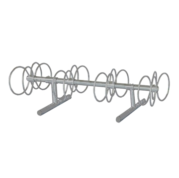 8 Space 5 Ft. Circle Bike Rack - Galvanized