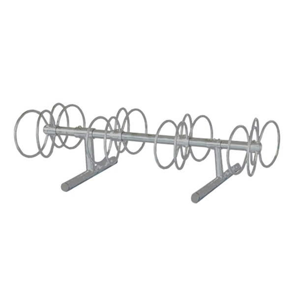 8 Space 5 Ft. Circle Bike Rack - Galvanized
