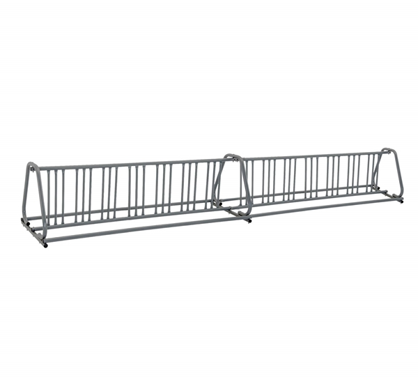 28 Space 16 Ft. A Frame Style Bike Rack - Galvanized