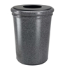 50 Gallon Polymer Concrete Trash Can - Pepperstone