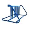 8 Space 5 Ft. W Style Bike Rack - Royal Blue