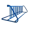 14 Space 8 Ft. W Style Grid Bike Rack - Royal Blue