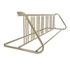 14 Space 8 Ft. W Style Grid Bike Rack - Tan