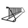 18 Space 10 Ft. W Style Grid Bike Rack - Black