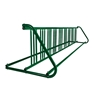 18 Space 10 Ft. W Style Grid Bike Rack - Forest Green