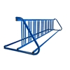 18 Space 10 Ft. W Style Grid Bike Rack - Royal Blue