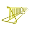 28 Space 16 Ft. W Style Grid Bike Rack - Yellow