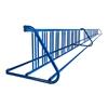 36 Space 20 Ft. W Style Grid Bike Rack - Royal Blue