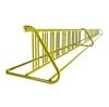 36 Space 20 Ft. W Style Grid Bike Rack - Yellow