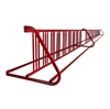 36 Space 20 Ft. W Style Grid Bike Rack - Red