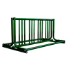 8 Space 5 Ft. J Style Grid Bike Rack - Forest Green