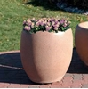"18"" Round Concrete Planter, 350 Lbs."