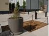 "36"" Round Concrete Planter, 1150 Lbs."