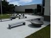 "60"" Round Concrete Planter, 900 Lbs."