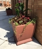 "30"" Square Concrete Planter, 1150 Lbs."