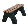 Recycled Plastic Slatted Backless Bench - 4 Ft., 6 Ft., or 8 Ft.