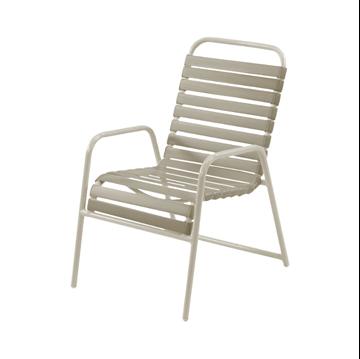 St. Maarten Vinyl Strap Dining Chair