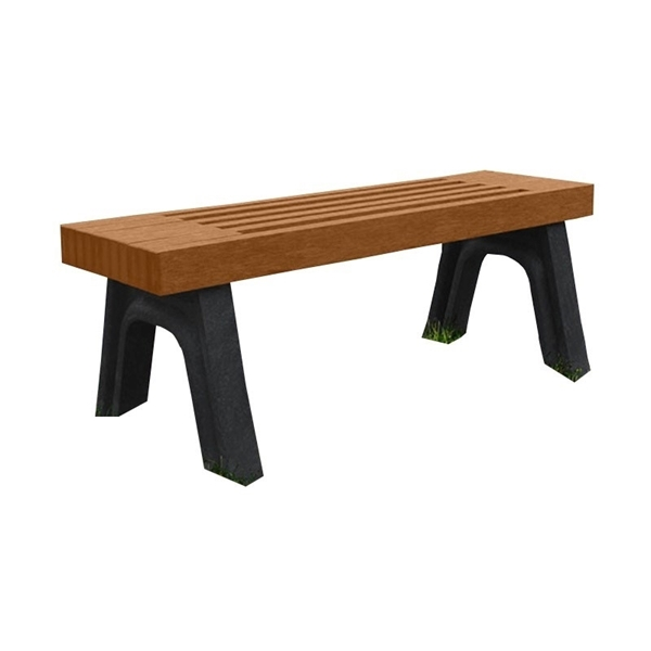 Elite Recycled Plastic Bench without Back