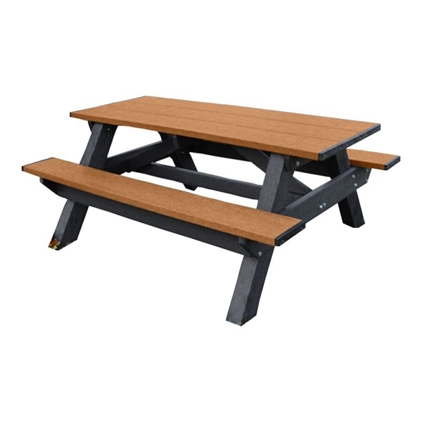 Astounding Recycled Plastic Picnic Table 6Ft Or 8Ft 300 Lbs Squirreltailoven Fun Painted Chair Ideas Images Squirreltailovenorg