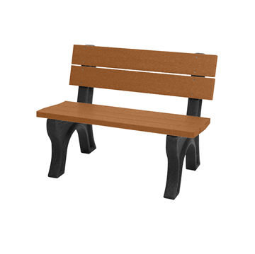 Traditional Recycled Plastic Bench