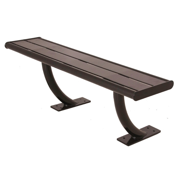 Acadia Steel Bench without Back - 4 Ft. or 6 Ft.