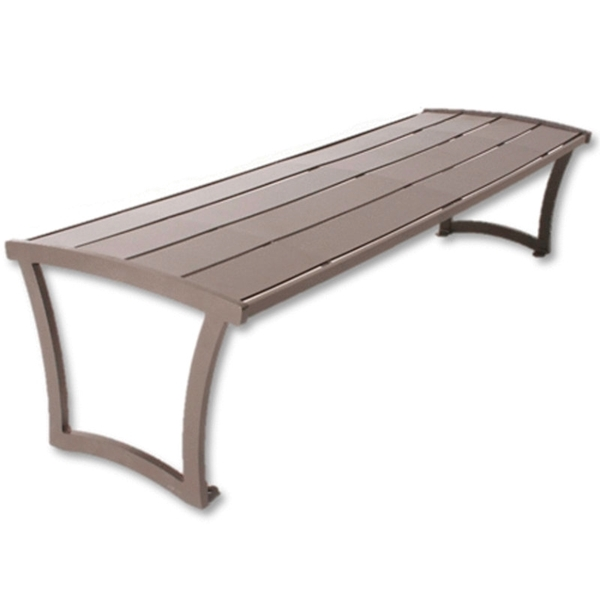 Bryce Steel Bench without Back - 4 Ft., 6 Ft., or 8 Ft.