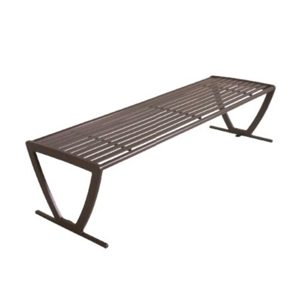 Zion Steel Bench without Back - 6 Ft.