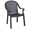 Sumatra Classic Plastic Resin Stacking Arm Chair