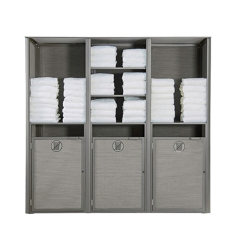 Commercial Aluminum Sunset Towel Valet