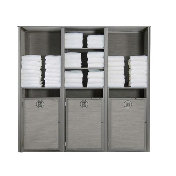 Commercial Aluminum Sunset Towel Valet
