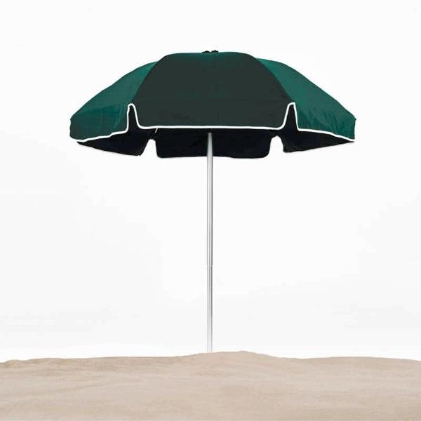 6 1/2 Ft Diameter Fiberglass Beach Umbrella