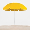 7.5 Foot Diameter Steel Beach Umbrella with Acrylic Canopy