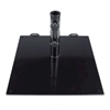Powder Coated Steel Plate 75lb. Umbrella Base with Wheels