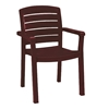 Acadia Classic Plastic Resin Stacking Armchair