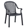 Colombo Plastic Resin Stacking Armchair