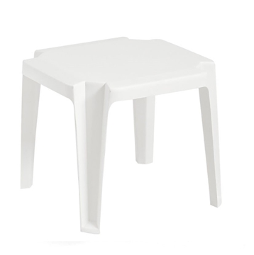 Miami 17 In. Square Low Stacking Swimming Pool Side Table
