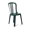 Miami Bistro Plastic Resin Stacking Side Chair