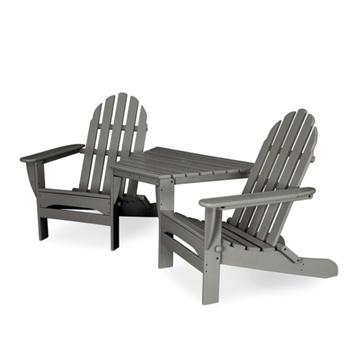 Polywood Adirondack Chair Tete-a-Tete