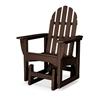 Polywood Adirondack Recycled Plastic Glider Chair