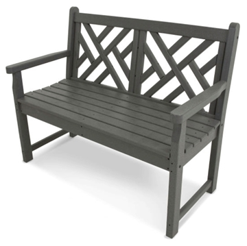 Polywood Chippendale 48 In. Bench