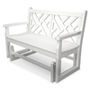Polywood Chippendale 48 In. Glider Bench