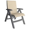 Plastic Resin Sling Arm Chair