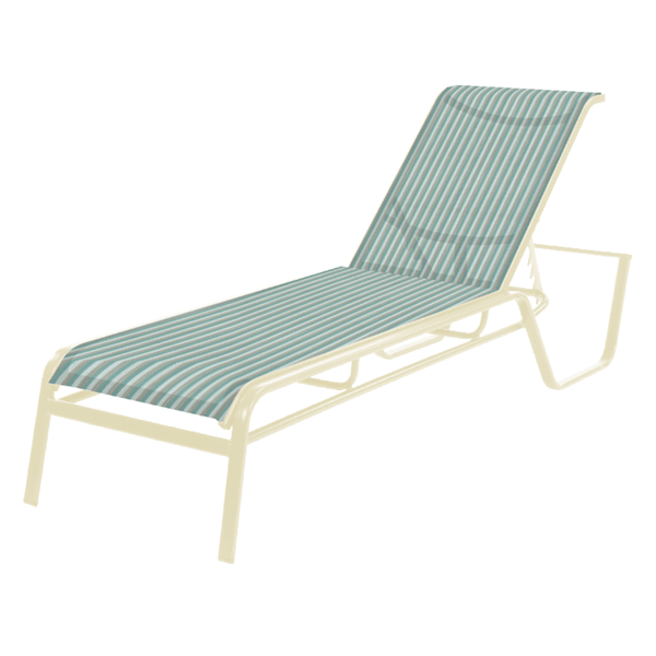 Monterey Chaise Lounge Fabric Sling with Bolt-Thru Aluminum Frame