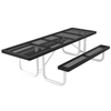ADA Wheelchair Accessible Rectangular Picnic Table