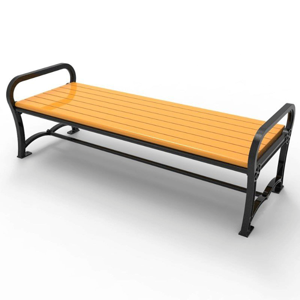 Cascades Recycled Plastic Bench without Back - 6 Ft. or 8 Ft.