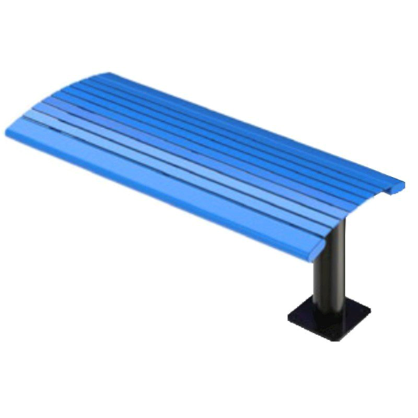 Arches Steel Cantilever Bench